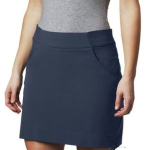 Columbia Anytime Casual Stretch Skort Navy Blue XL